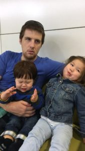 15 hours on planes with a sick 1-year-old (and a toddler)