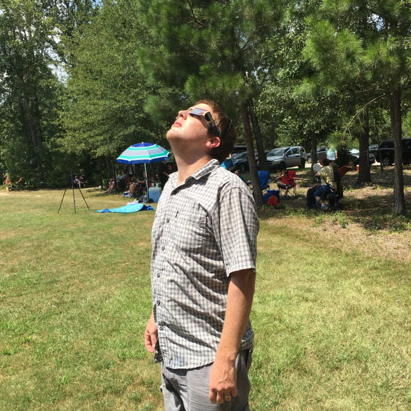 """We """"Saw"""" the Eclipse in South Carolina"""